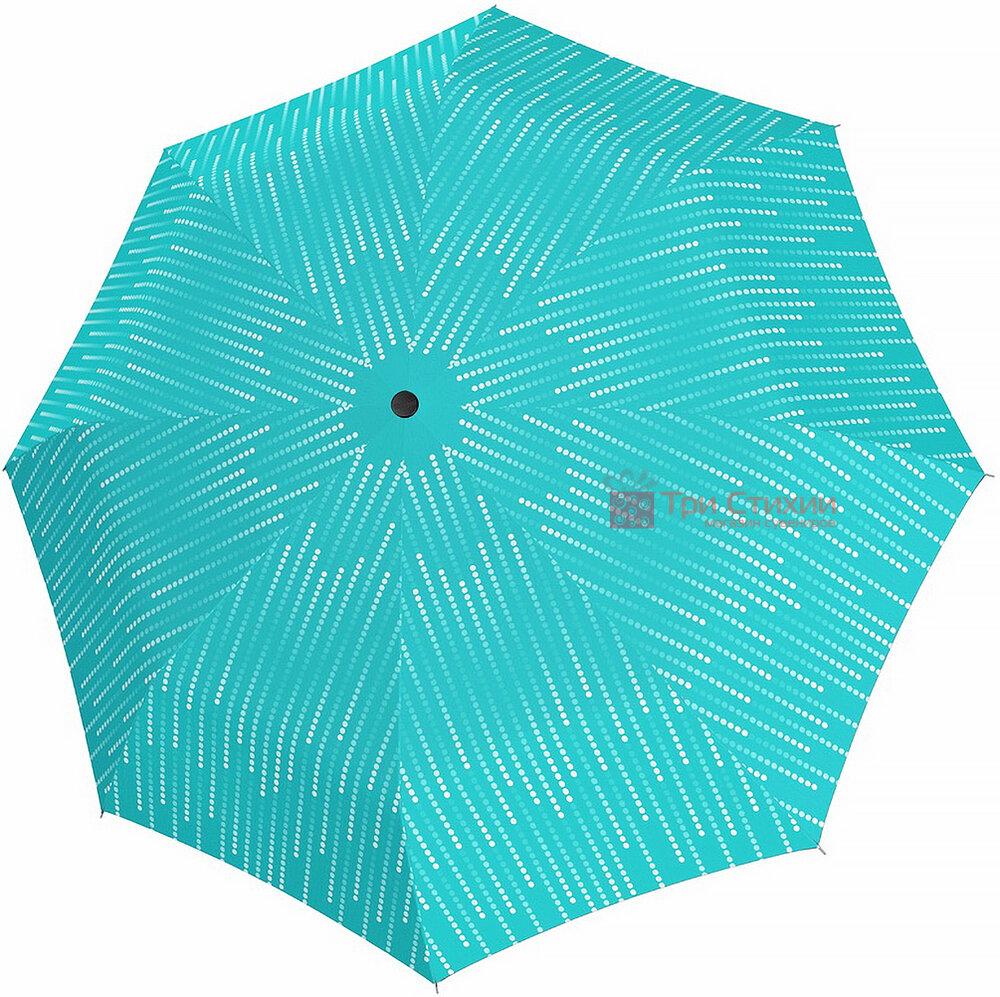Зонт складной Doppler с UV-фильтром 7441465GL01 Бирюзовый, Цвет: Бирюзовый, фото
