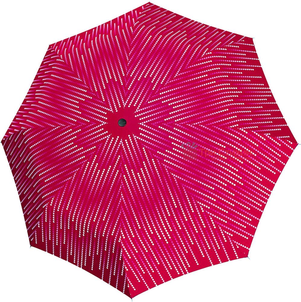 Зонт складной Doppler с UV-фильтром 7441465GL03 полный автомат Бордовый, фото