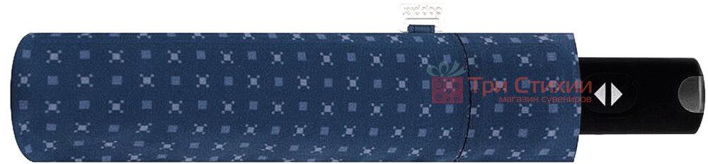 Парасоля складана Doppler Carbonsteel 744867F02 автомат Синя, фото 2