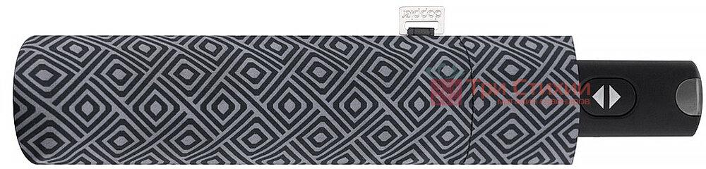 Зонт складной Doppler Carbonsteel 744867F05 полный автомат Серый, Цвет: Серый, фото 2