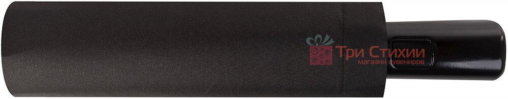 Зонт с кейсом складной Doppler 12 спиц 746863DSZC полный автомат Черный, фото 4