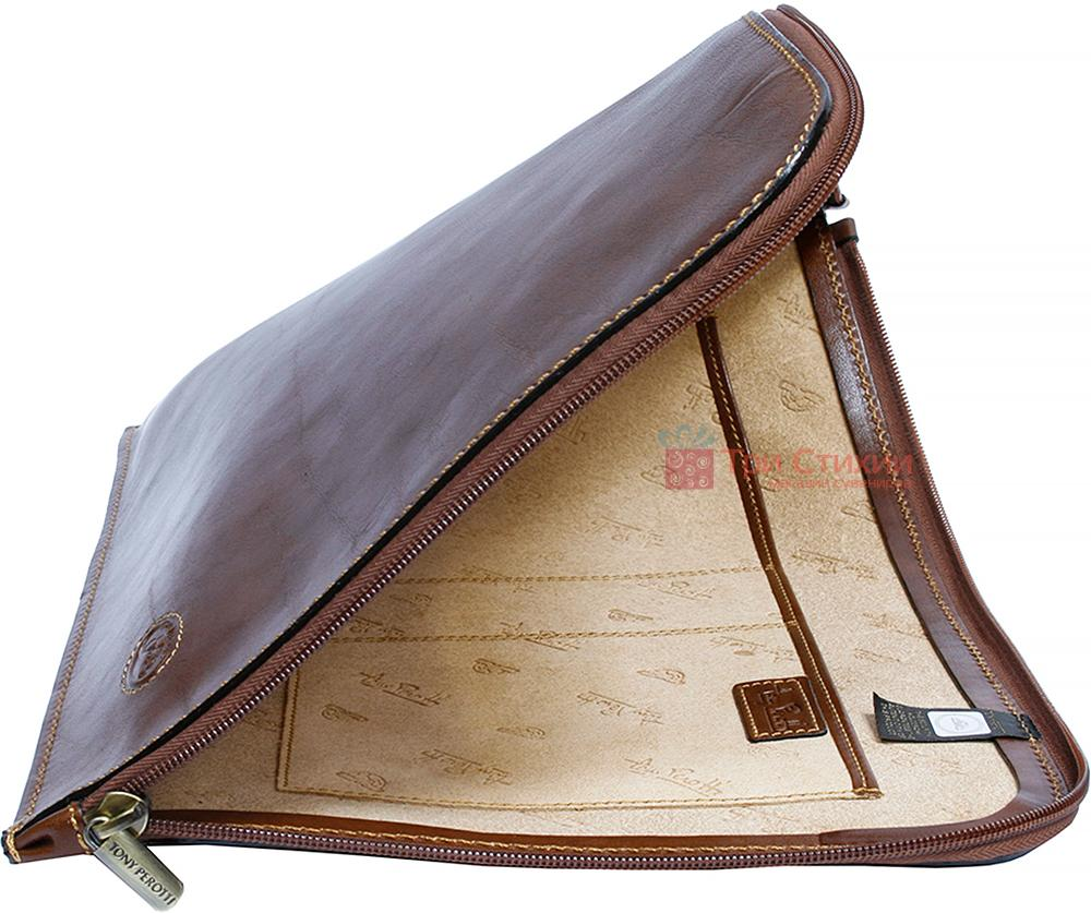 Папка для документов Tony Perotti Italico 8017L cognac Коньяк, Цвет: Коньяк, фото 3
