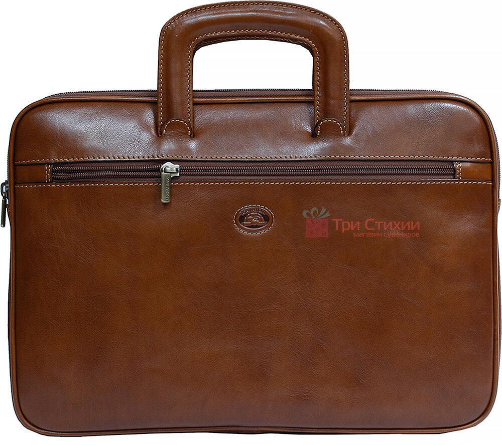 Папка-портфель Tony Perotti Italico 8090-it cognac Коньяк, фото
