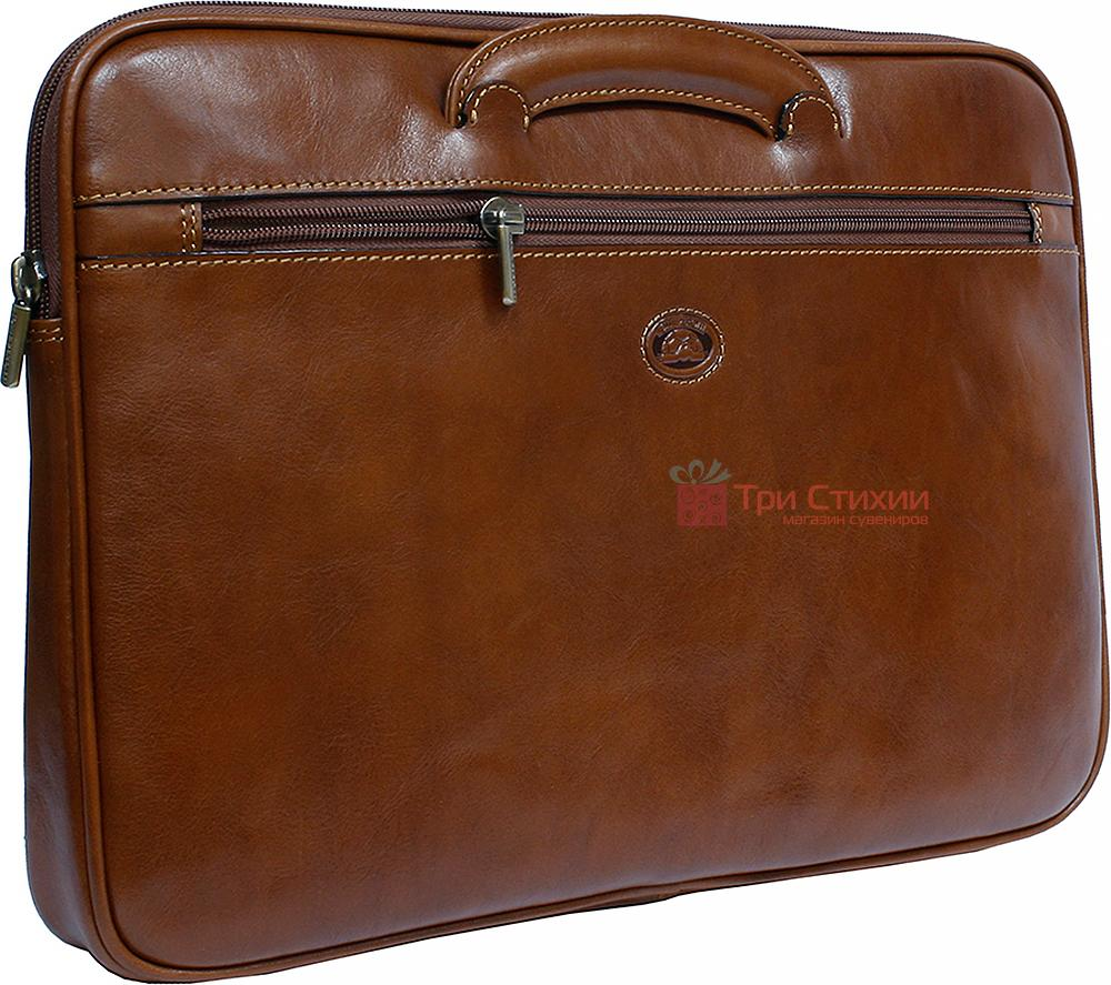 Папка-портфель Tony Perotti Italico 8090-it cognac Коньяк, фото 2