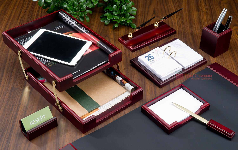 Набір Bestar 8 предметів 8259 XDU Червоне дерево, Колір: Червоне дерево, фото