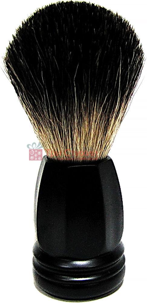 Помазок Rainer Dittmar Pfeilring борсук 1015-6 Чорний, Колір: Чорний, фото