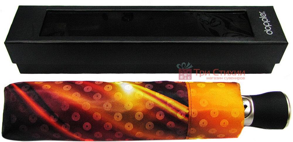 Зонт складной Doppler34519 Flame полный автомат Цветной, фото 2
