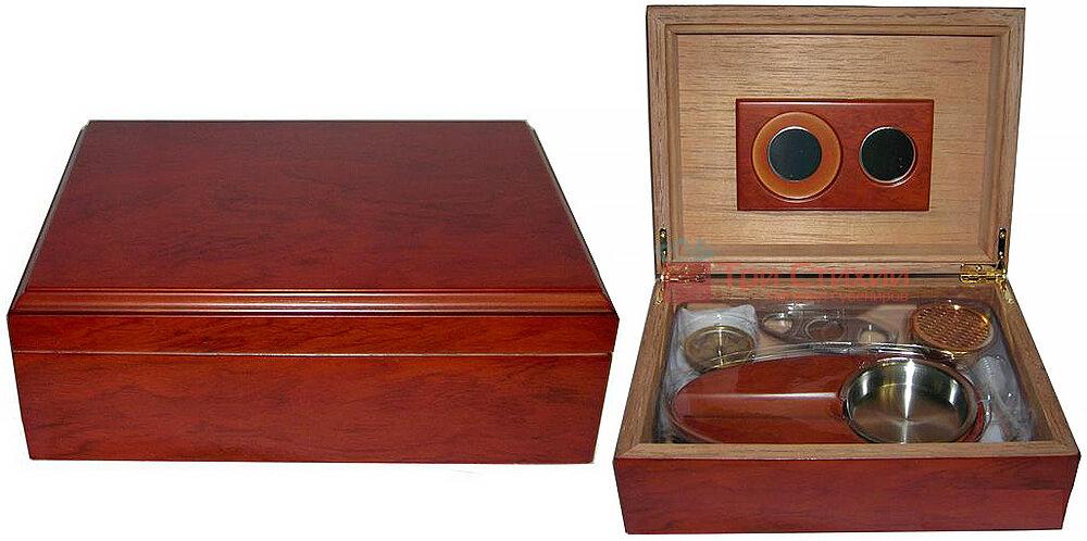 Х'юмідор Platner на 12 сигар Червоний (600214), фото 2