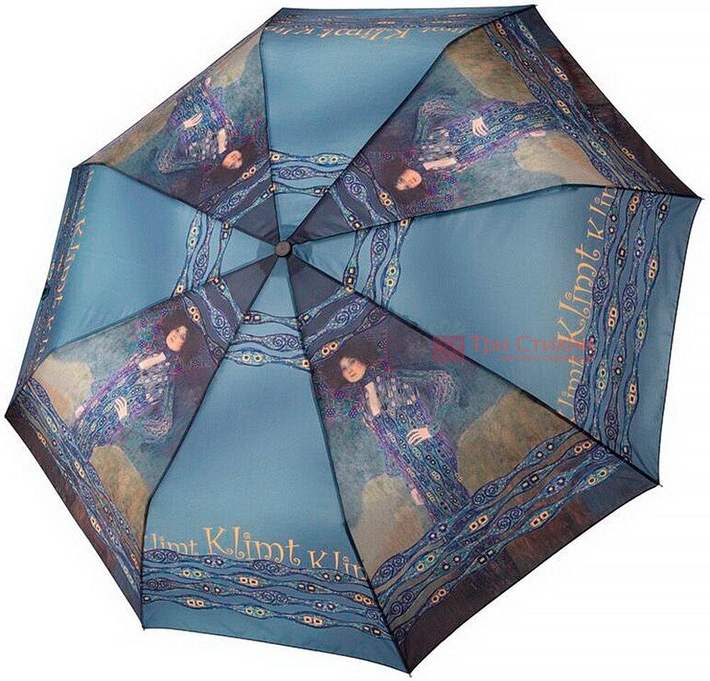 Зонт складной Derby Климт 7000275E механический Синий, фото