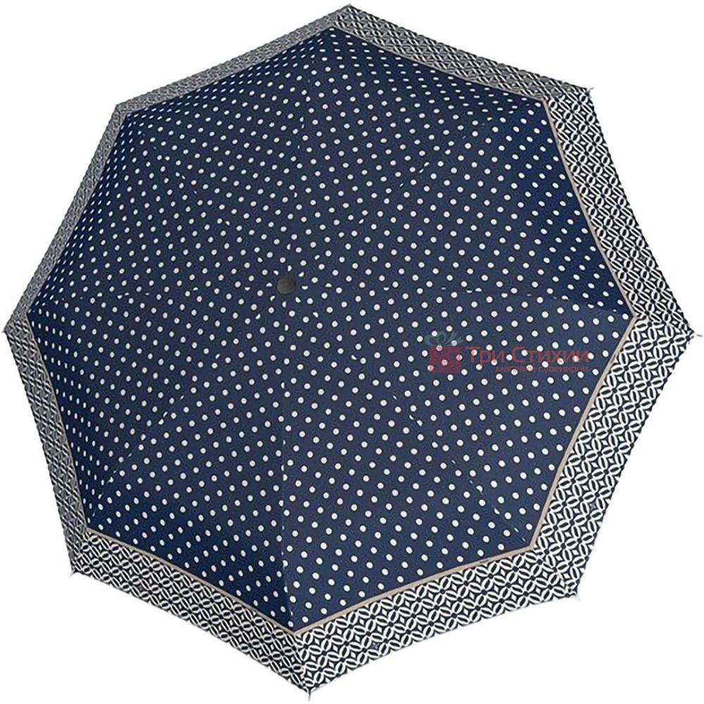Парасолька складана Doppler 722365NI-3 механічна Синя, фото