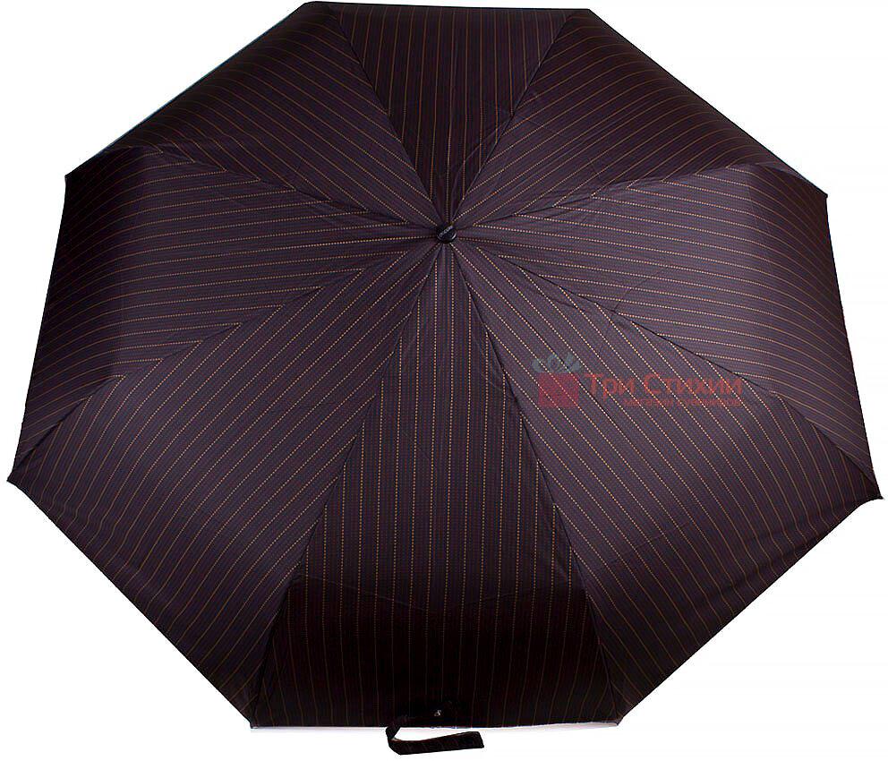 Зонт складной Doppler 743067-2 автомат Коричневый полоска, Цвет: Коричневый, фото 2