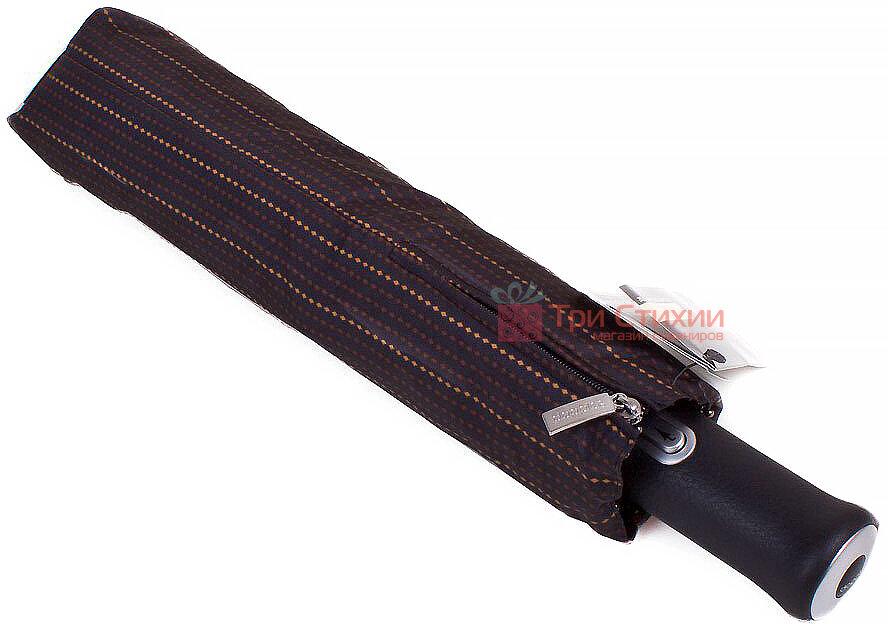 Зонт складной Doppler 743067-2 автомат Коричневый полоска, Цвет: Коричневый, фото 4