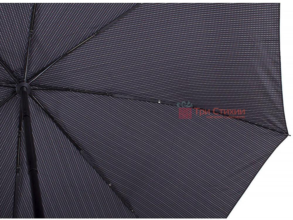 Зонт складной Doppler 743067-4 полный автомат Серая полоска, Цвет: Серый, фото 3