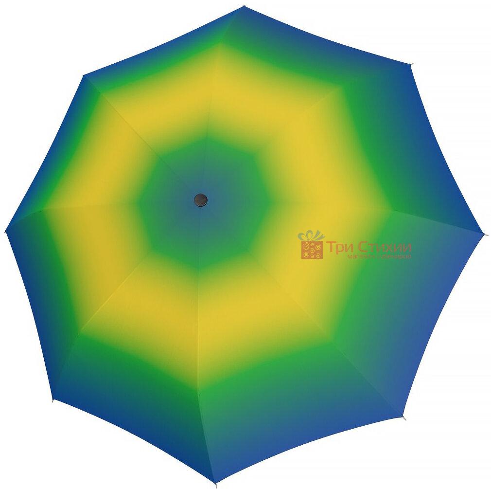 Зонт складной Doppler 7441465SR01 автомат Сине-желтый, фото