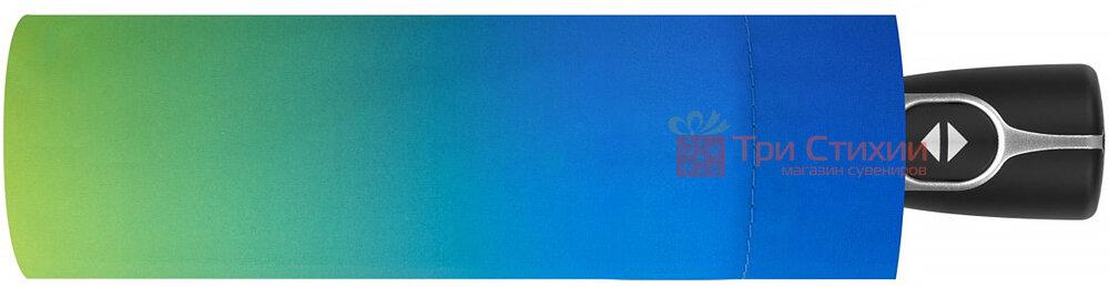 Зонт складной Doppler 7441465SR01 автомат Сине-желтый, фото 2