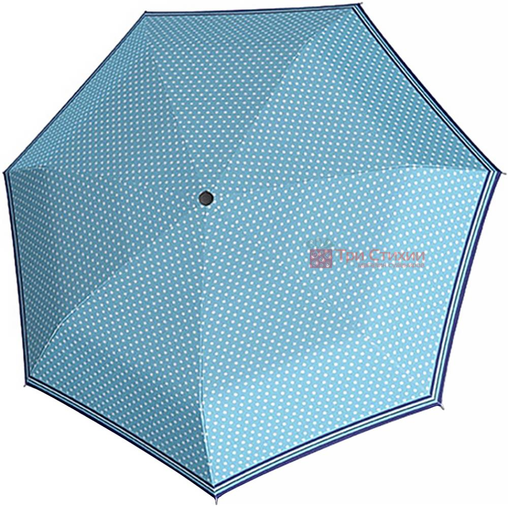 Зонт складной Derby 744165PS-1 автомат Голубой, Цвет: Голубой, фото