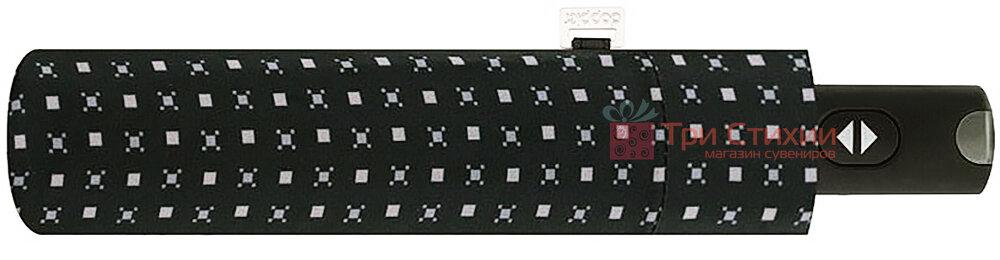 Зонт складной Doppler Carbonsteel 744867F01 автомат Черный, фото 2