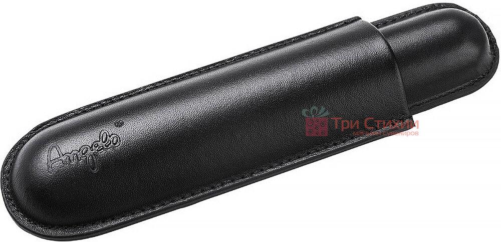 Футляр Angelo экокожа для 1 сигары 16 см, диаметр 2,3 см (81100) Черный, фото 2