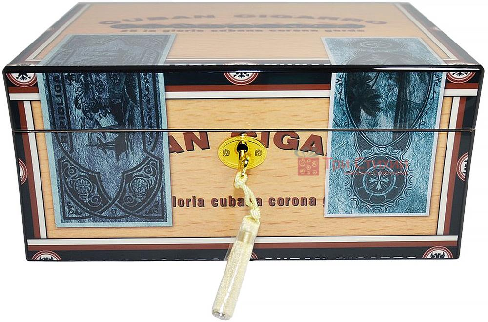 Х'юмідор Angelo на 25 сигар CUBAN CIGARRO (920310), фото 2
