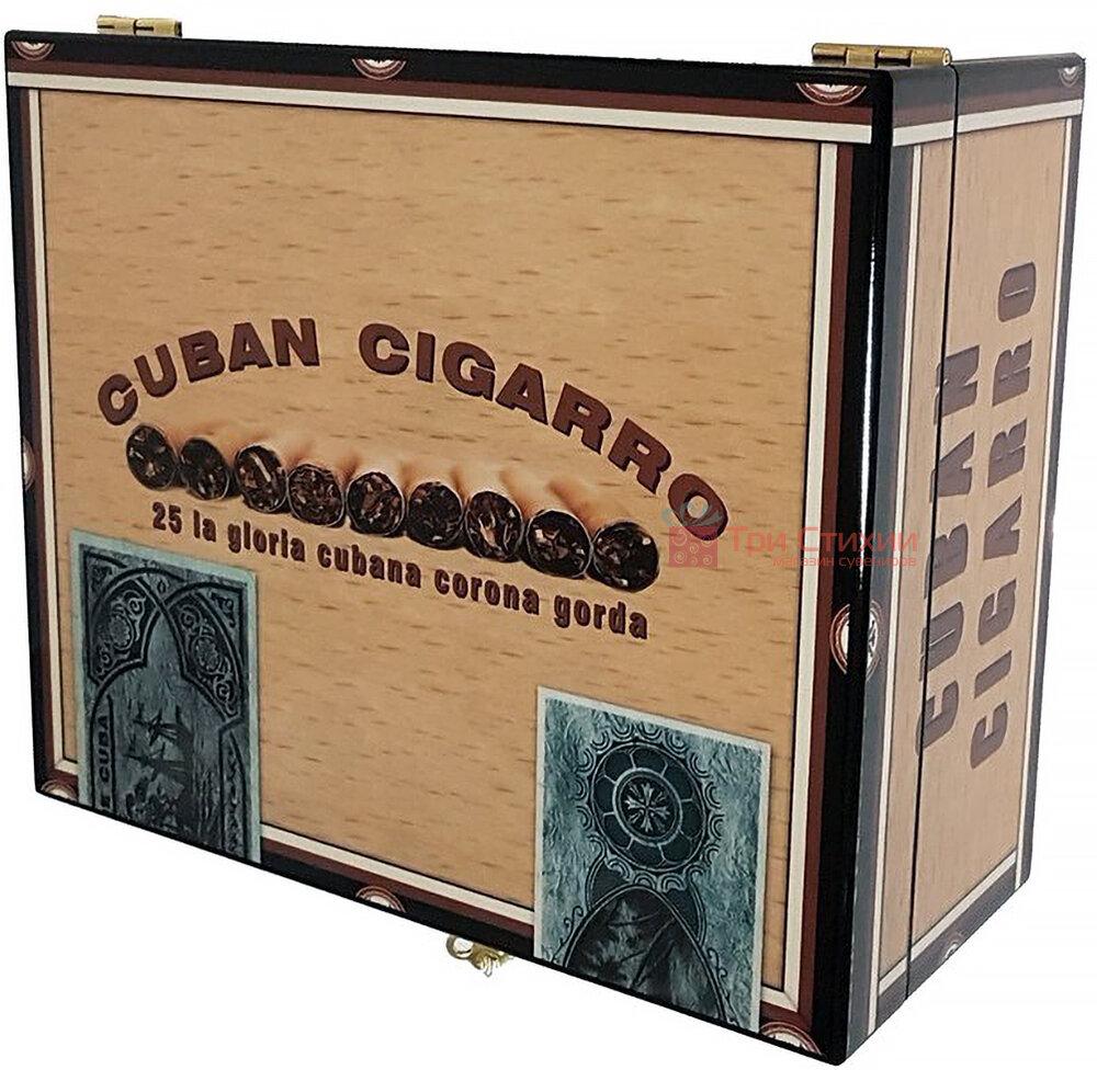 Х'юмідор Angelo на 25 сигар CUBAN CIGARRO (920310), фото 3