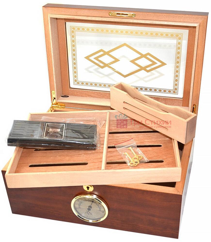 Х'юмідор Angelo на 100 сигар Коричневий (920340), фото 2