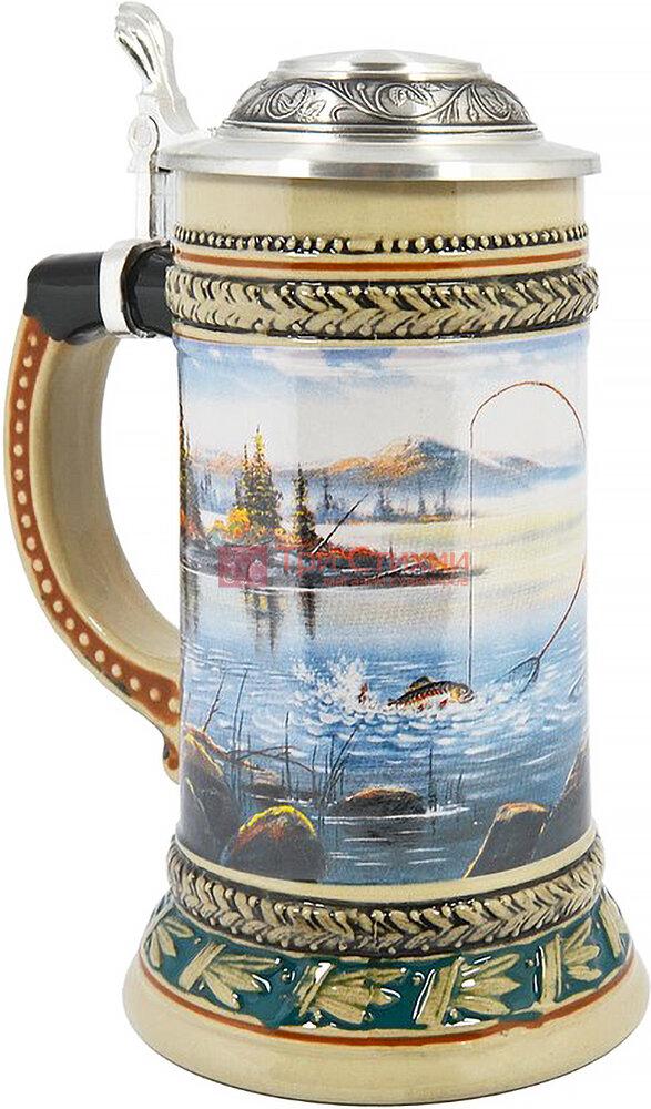 Кружка пивная Artina SKS Рыбак 500 мл (93353), фото 2