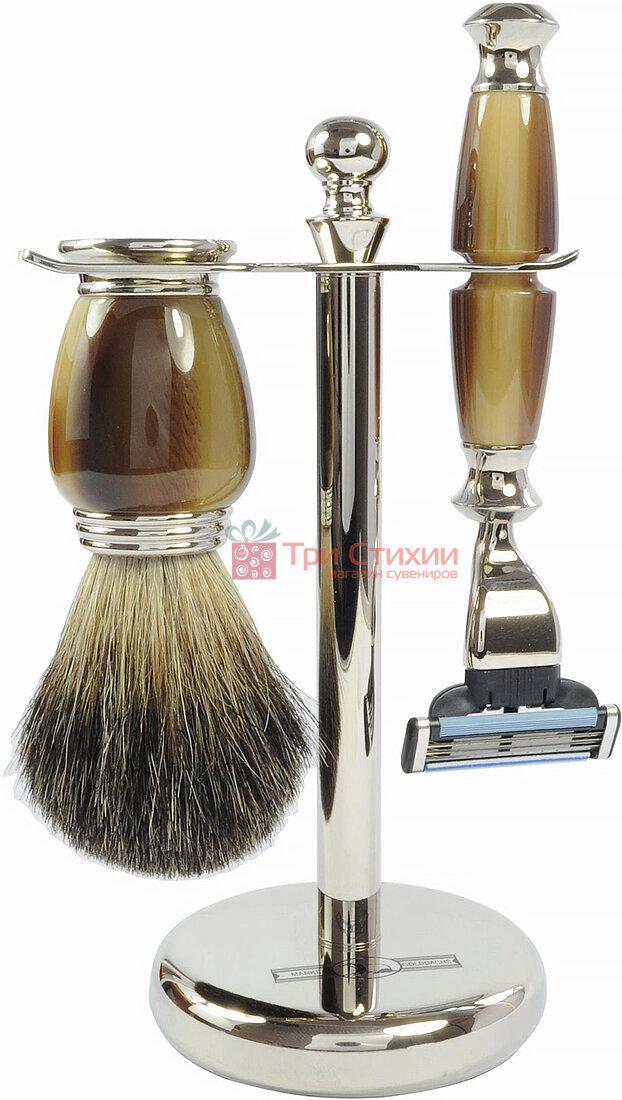 Набор для бритья Rainer Dittmar 1691-7-14 Зеленый мрамор, фото