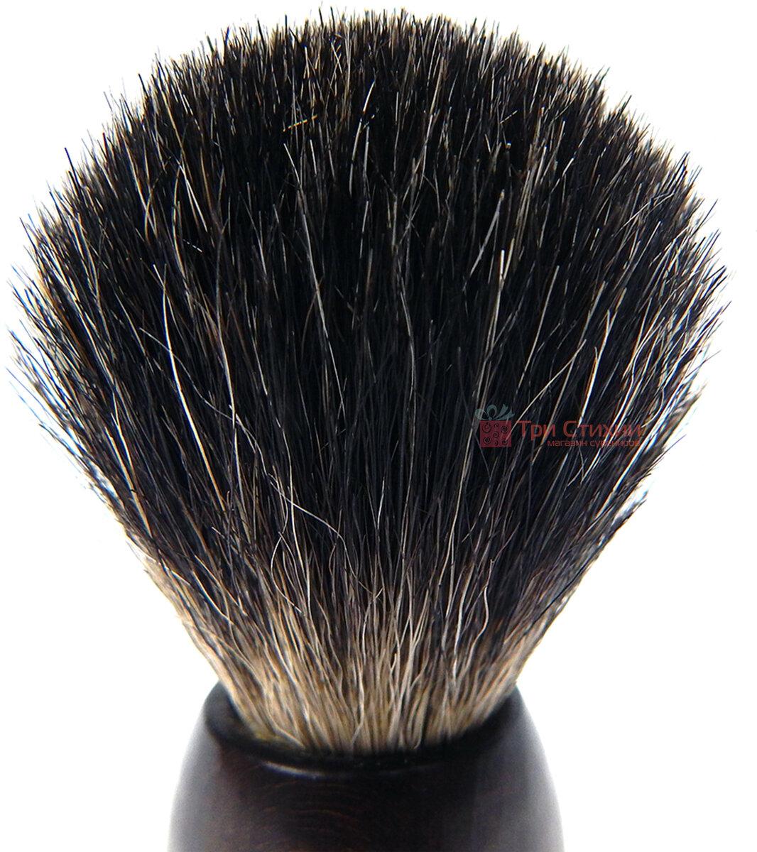 Помазок барсук для бритья Hans Baier 51051 Коричневый, фото 2