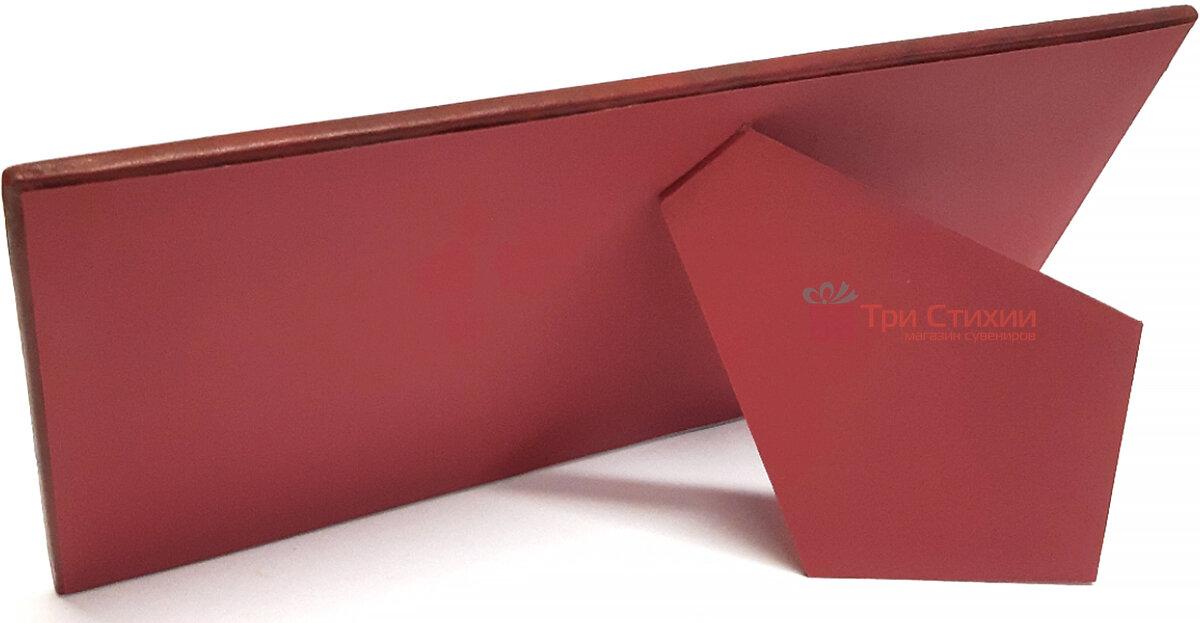 Рамка для фото Макей кожаная Полет бабочки (519-08-01), Цвет: Бордовый, фото 4