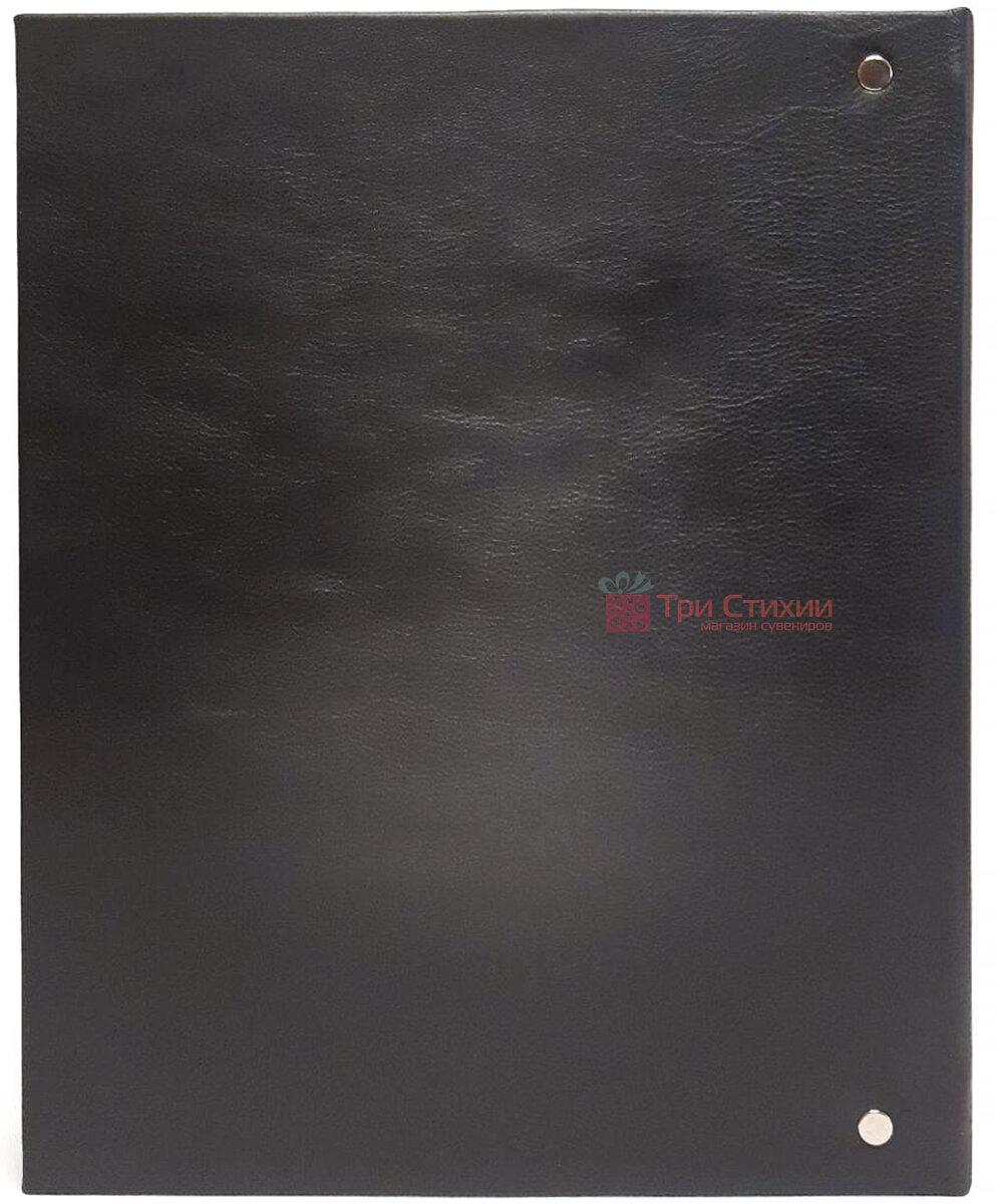 Родословная книга Макей кожаная (620-07-09 Ч) Черная, фото 5