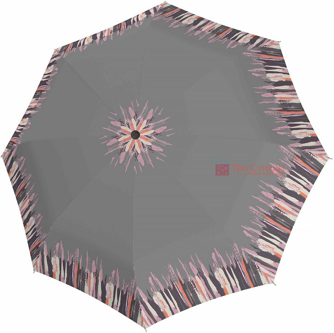 Зонт складной Doppler 7301652902-2 полуавтомат Серый, фото