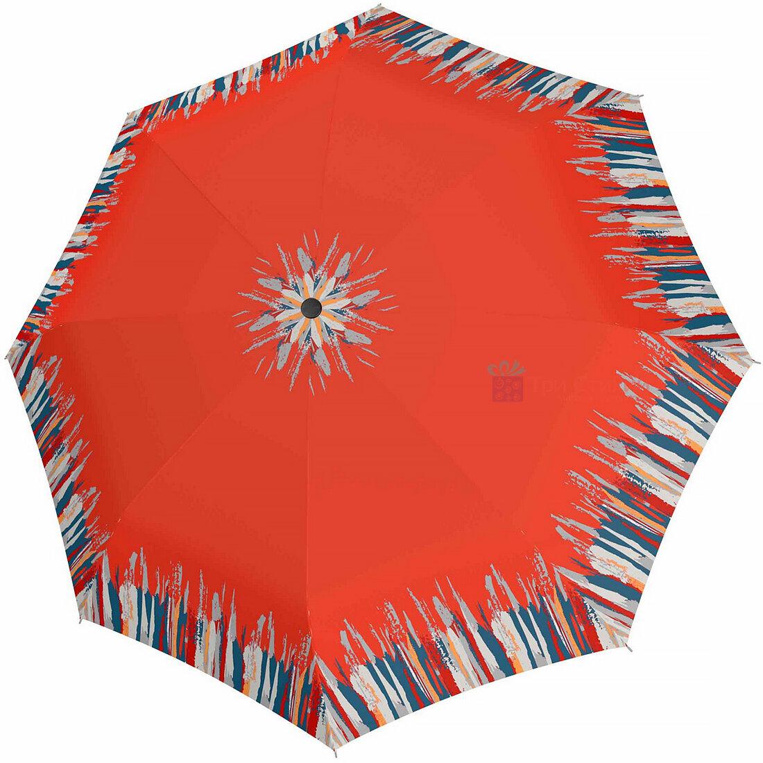 Зонт складной Doppler 7301652903-2 полуавтомат Оранжевый, Цвет: Оранжевый, фото