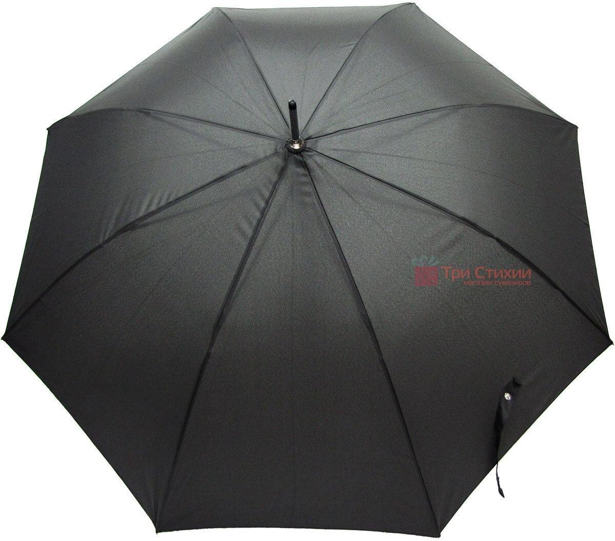 Зонт-трость Doppler 740167-3 полуавтомат Черный, фото