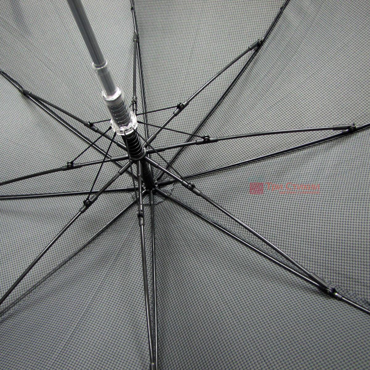 Парасоля-тростина Doppler 740167-4 напівавтомат Дрібна клітинка, фото 5