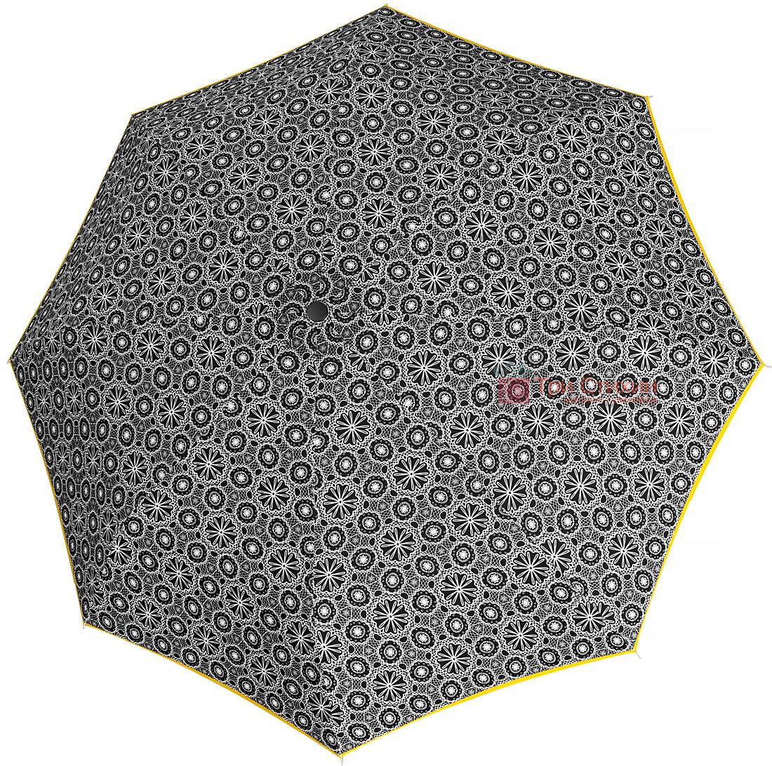 Зонт складной Derby 744165PL-8 полный автомат Желтая полоса, Цвет: Желтый, фото