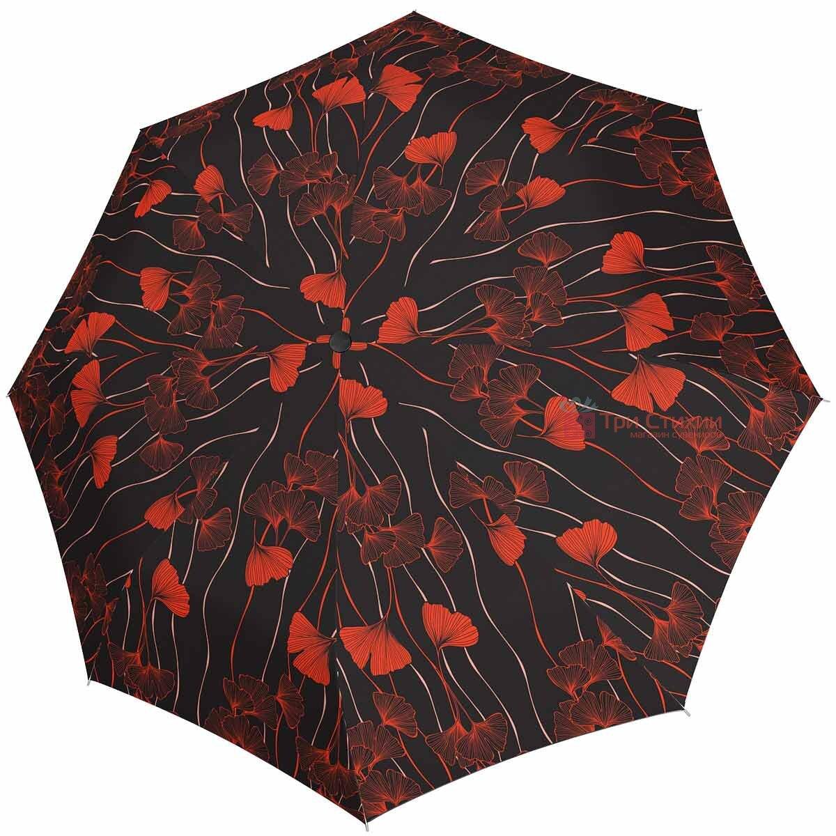 Зонт складной Doppler Satin 74665GFGR03 полный автомат Коричневый, фото