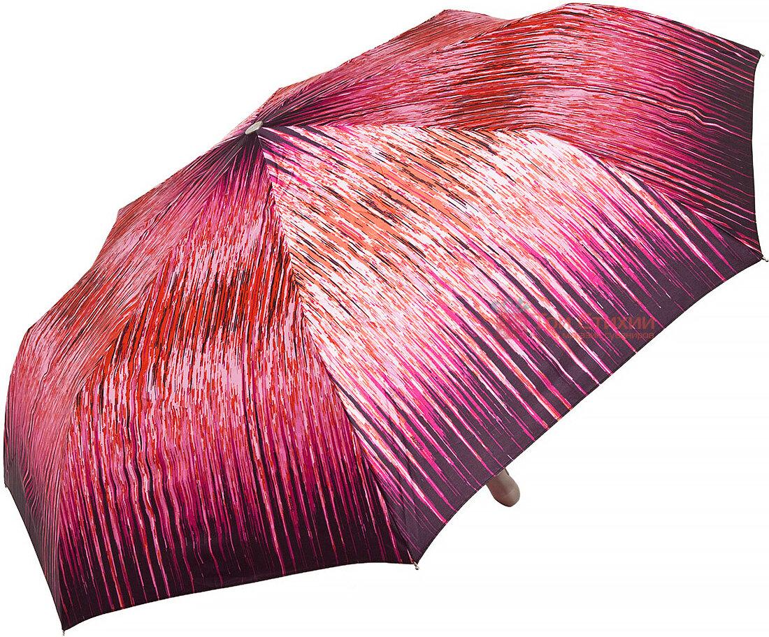 Зонт складной Doppler Satin 74665 GFGRA-2 автомат Бордовый, Цвет: Бордовый, фото