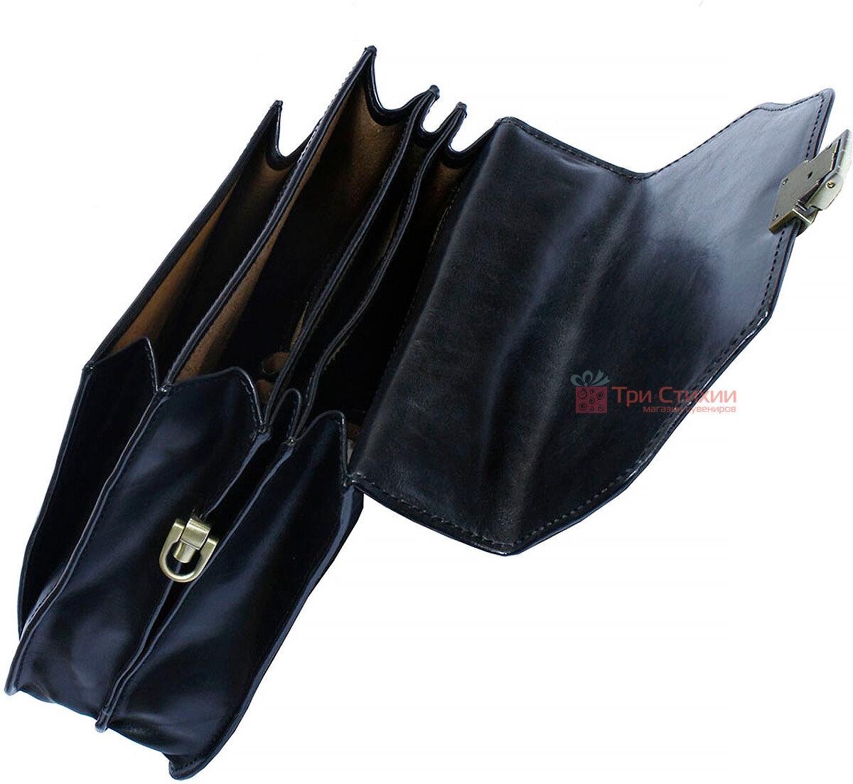 Сумка-планшет Tony Perotti Italico 8265-it Чорна, фото 4