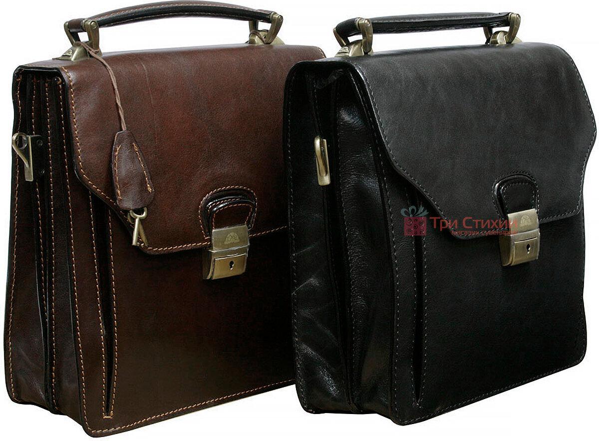 Сумка-планшет Tony Perotti Italico 8265-it Чорна, фото 6