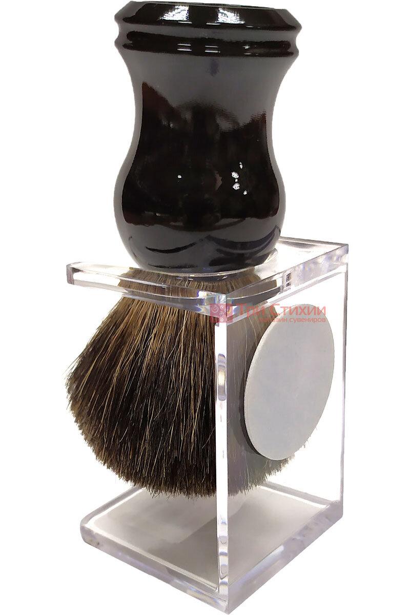 Помазок барсук на подставке Rainer Dittmar Pfeilring 1002-6-1 Черный, фото 2
