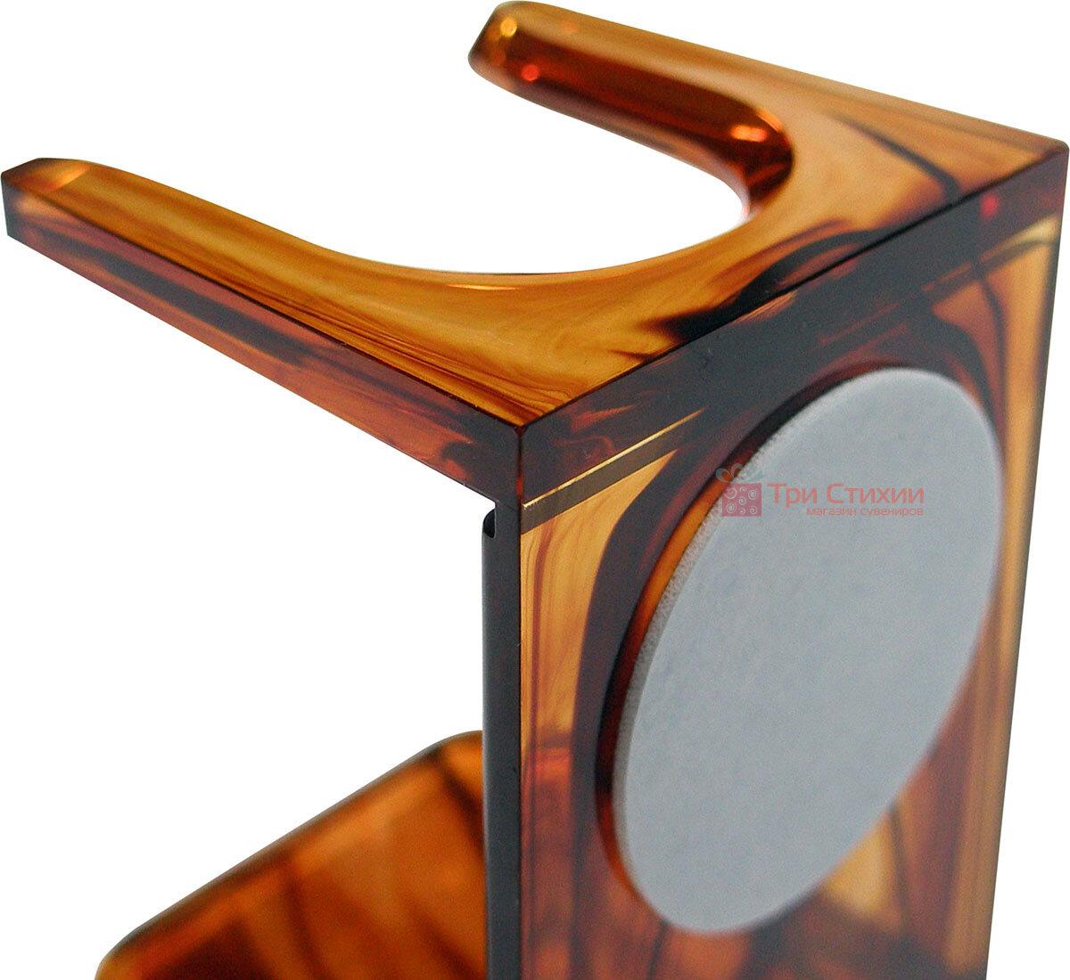 Помазок барсук на подставке Hans Baier 51051-1 Коричневый, фото 4
