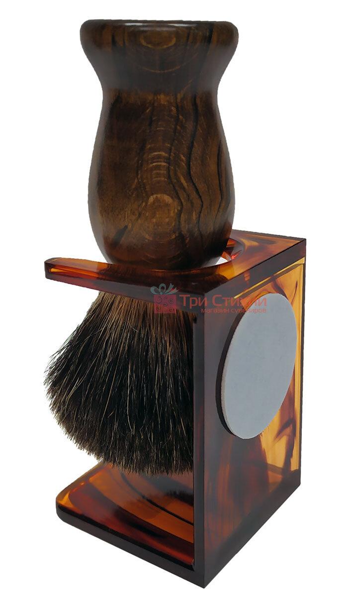 Помазок барсук на подставке Hans Baier 51181-1 Коричневый, фото 2