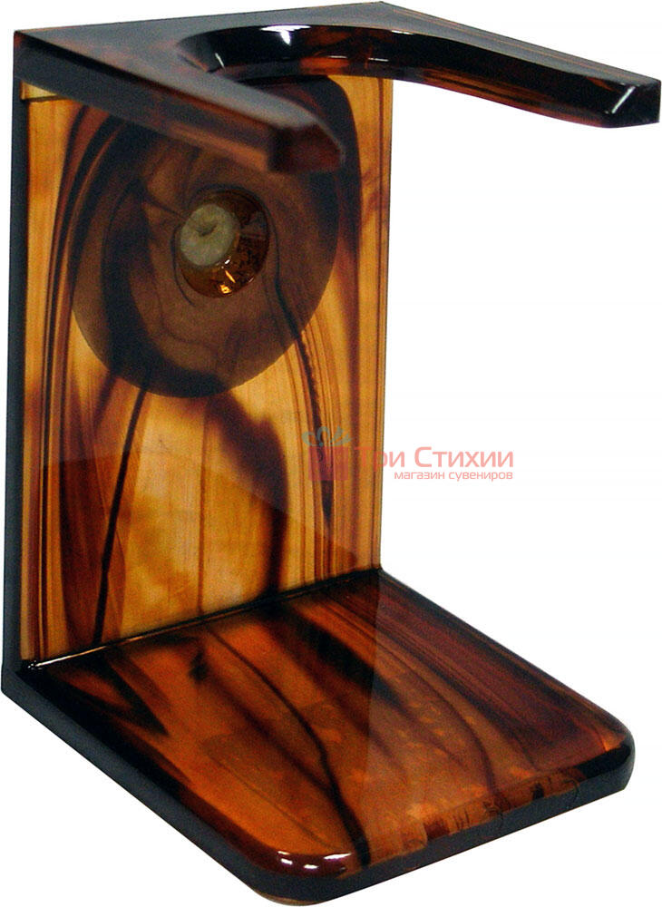 Помазок барсук на подставке Hans Baier 51181-1 Коричневый, фото 3
