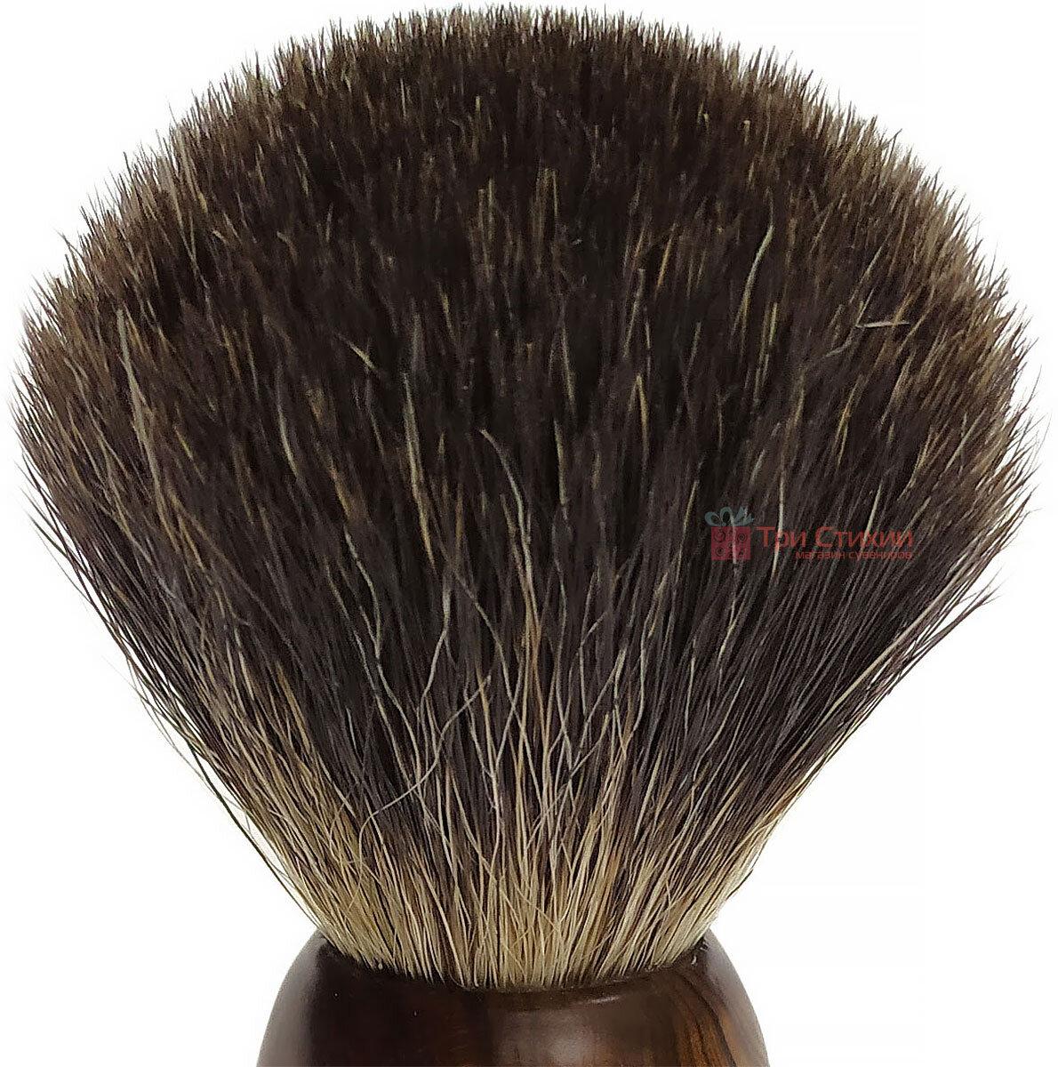 Помазок барсук для бритья Hans Baier 51181 Коричневый, фото 2