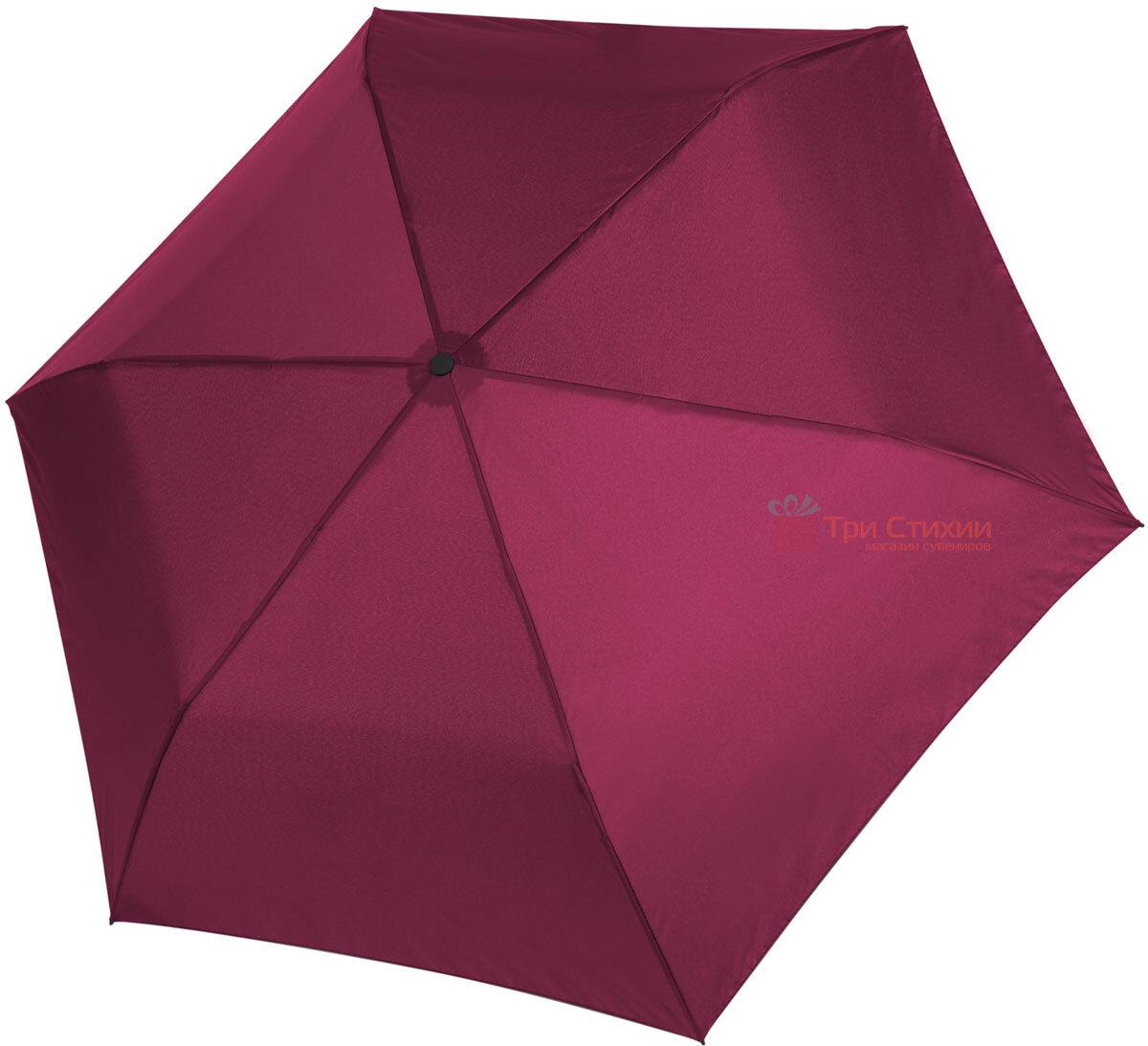 Зонт складной Doppler ZERO 99 механический 710632603 Бордовый, фото