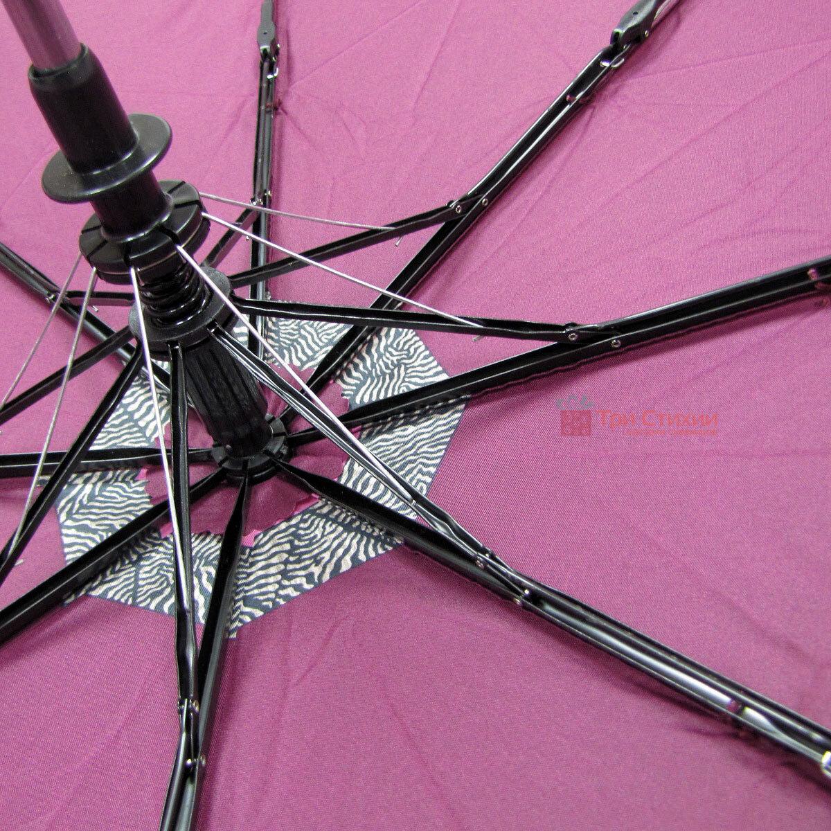 Зонт складной Doppler 7301653003-1 полуавтомат Бордовый Кант, фото 4