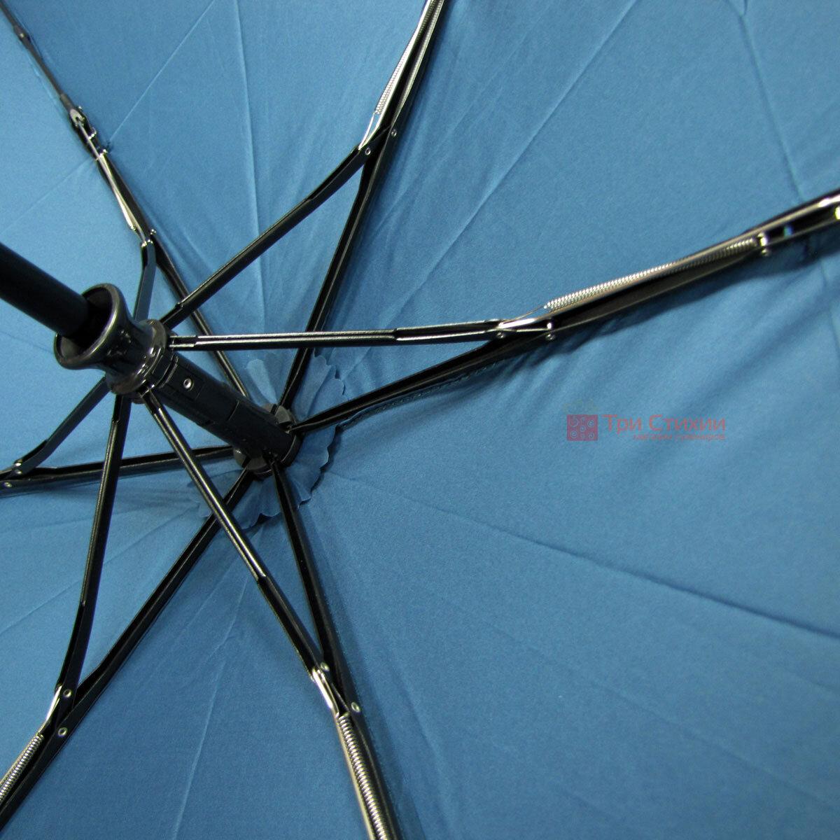Парасолька складана Doppler ZERO 74456306 повний автомат Блакитна, фото 5