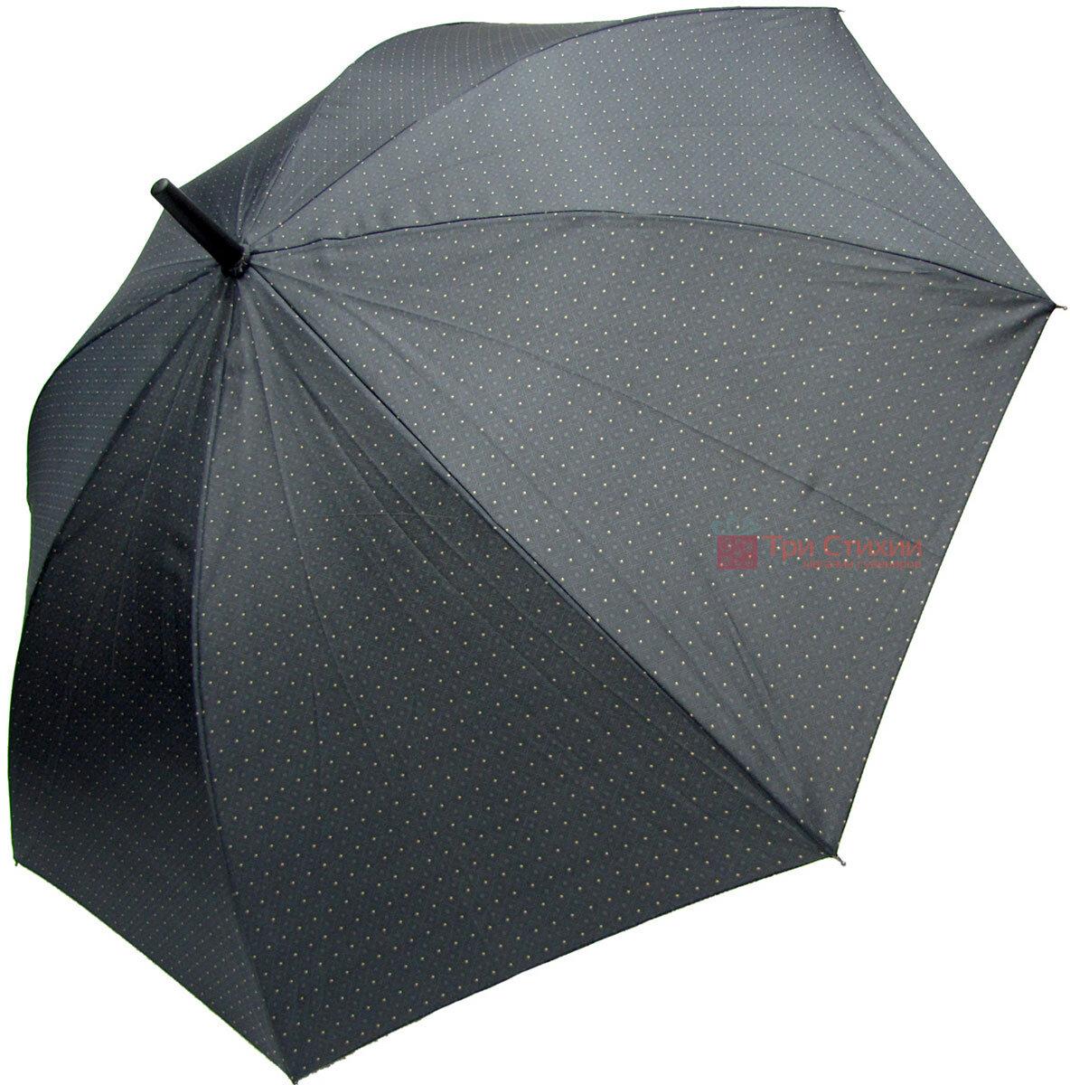 Зонт-трость Derby 77167P-1 полуавтомат Серый в ромбы, фото