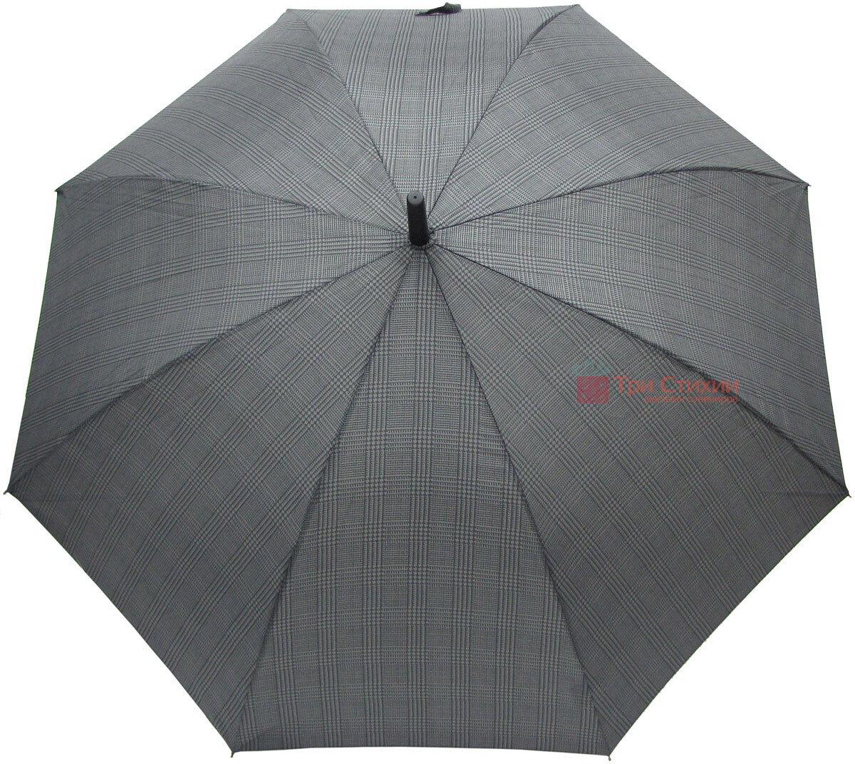 Зонт-трость Derby 77167P-2 полуавтомат Крупная клетка, фото