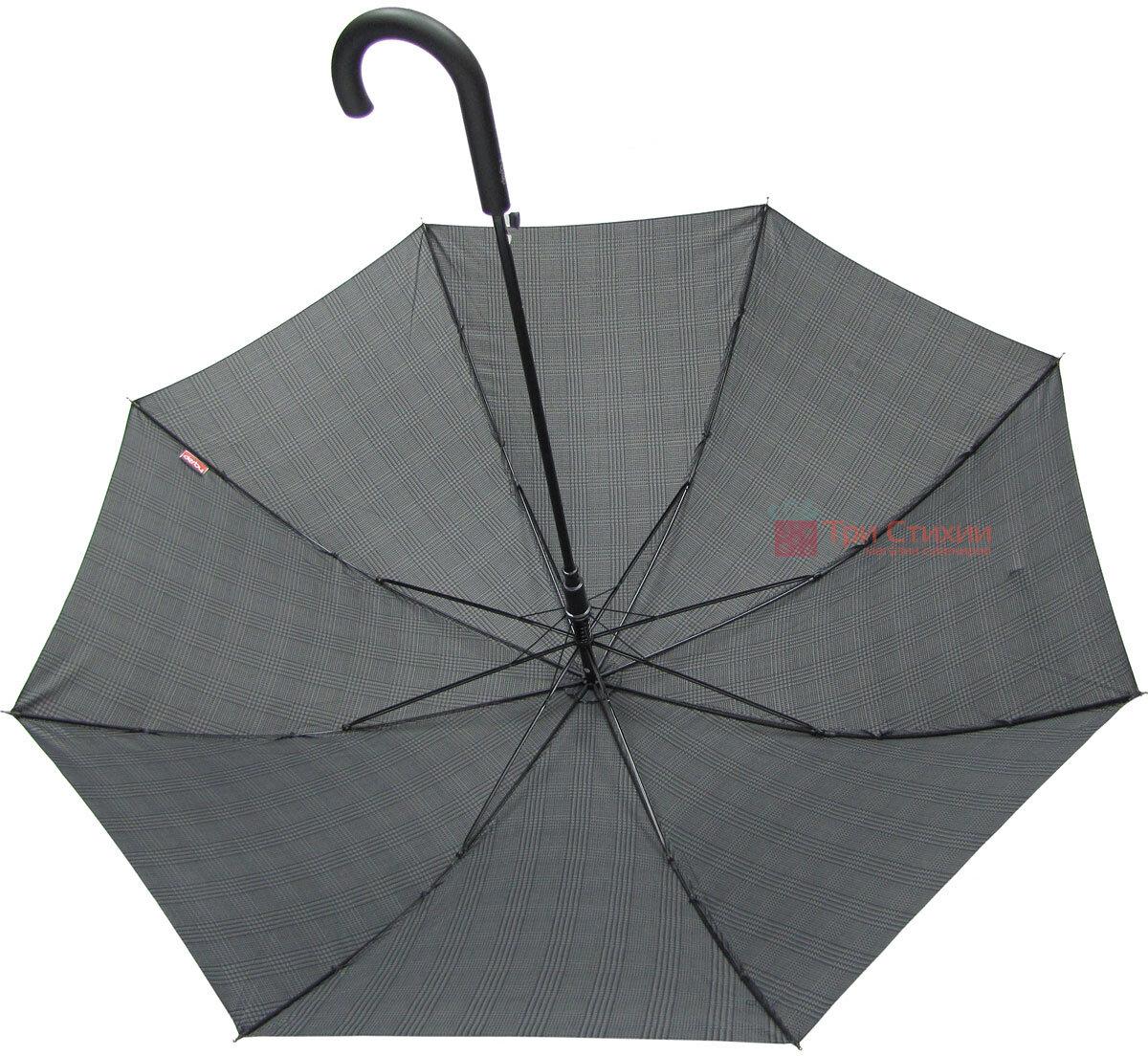Зонт-трость Derby 77167P-2 полуавтомат Крупная клетка, фото 2